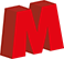 M logo footer